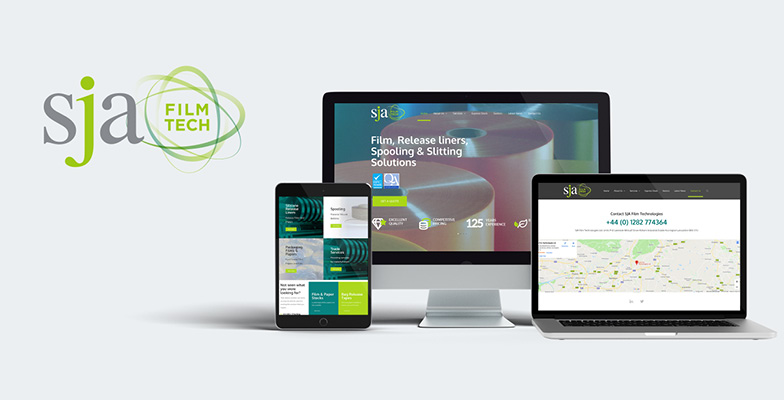SJA Film Tech New Website Launch