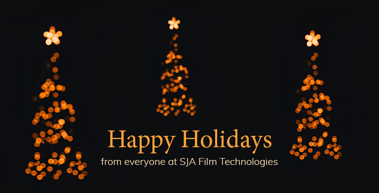 Happy Holidays from SJA Film Technologies