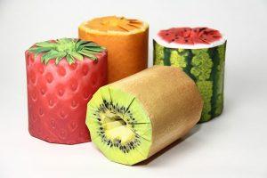 Fruit Toilet Roll